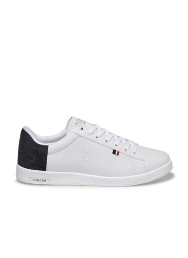 U.S. Polo Assn. Pedro 1Fx Erkek Sneaker Beyaz